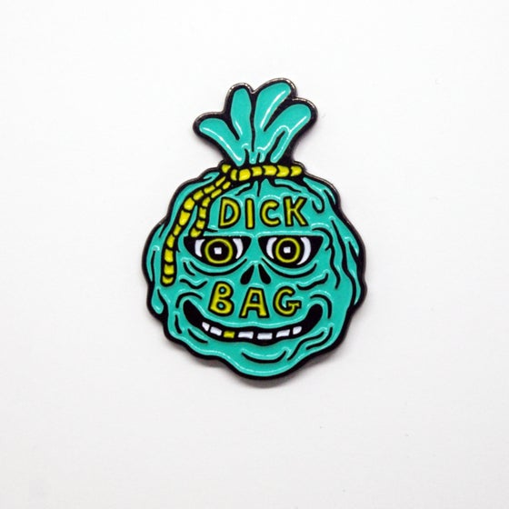 Image of Dick Bag pin