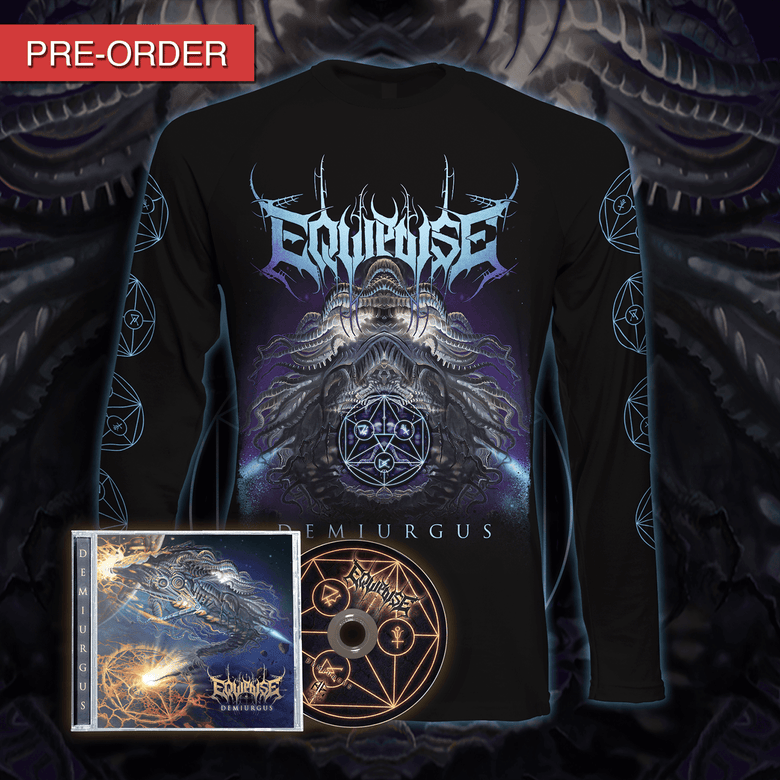 Image of [PRE-ORDER] EQUIPOISE - Demiurgus - Long Sleeve Bundle