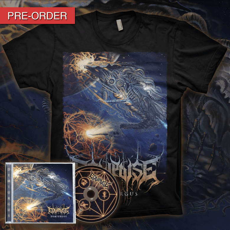 Image of [PRE-ORDER] EQUIPOISE - Demiurgus - CD Bundle