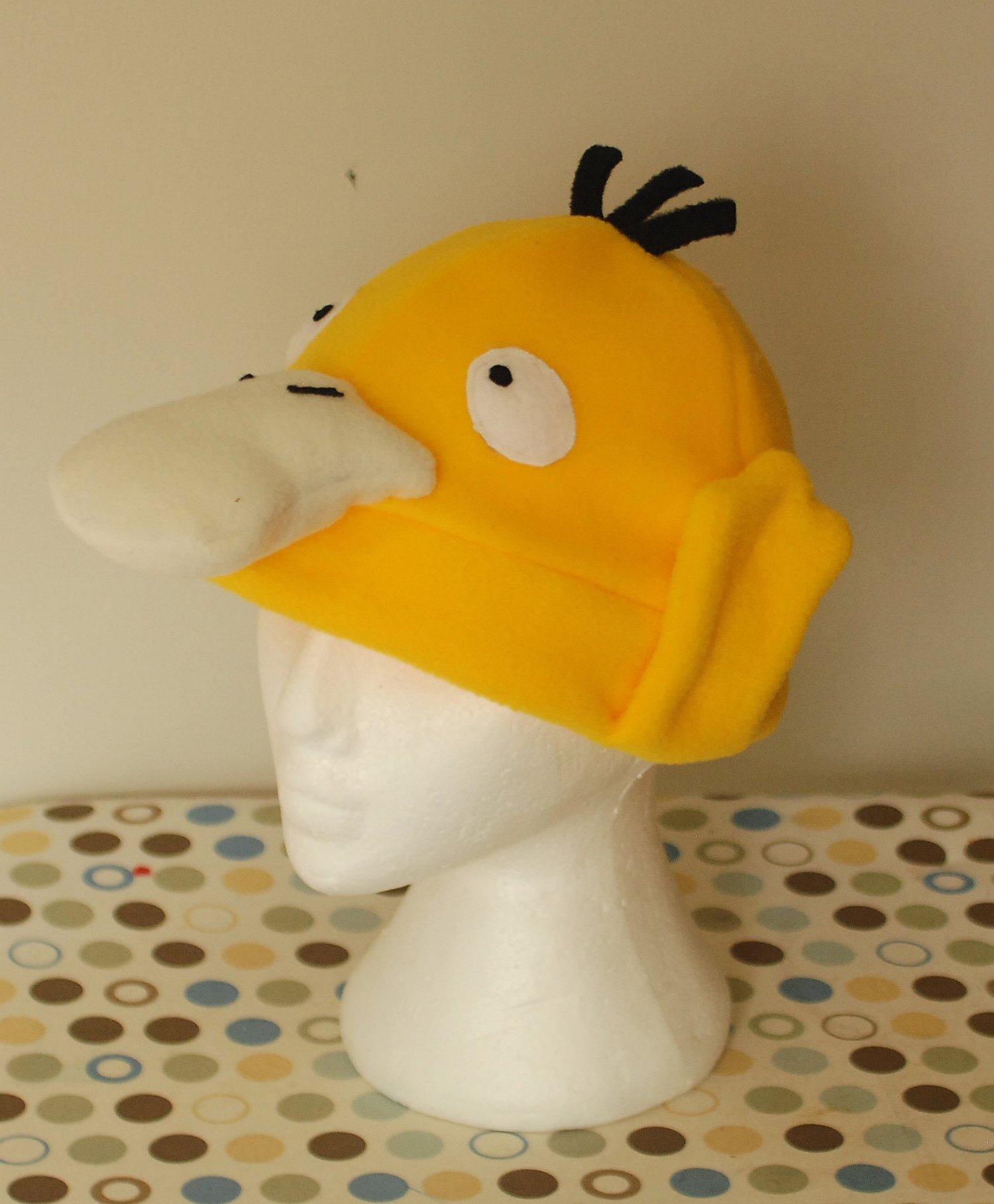 Image of Psyduck Pokemon Fleece Hat