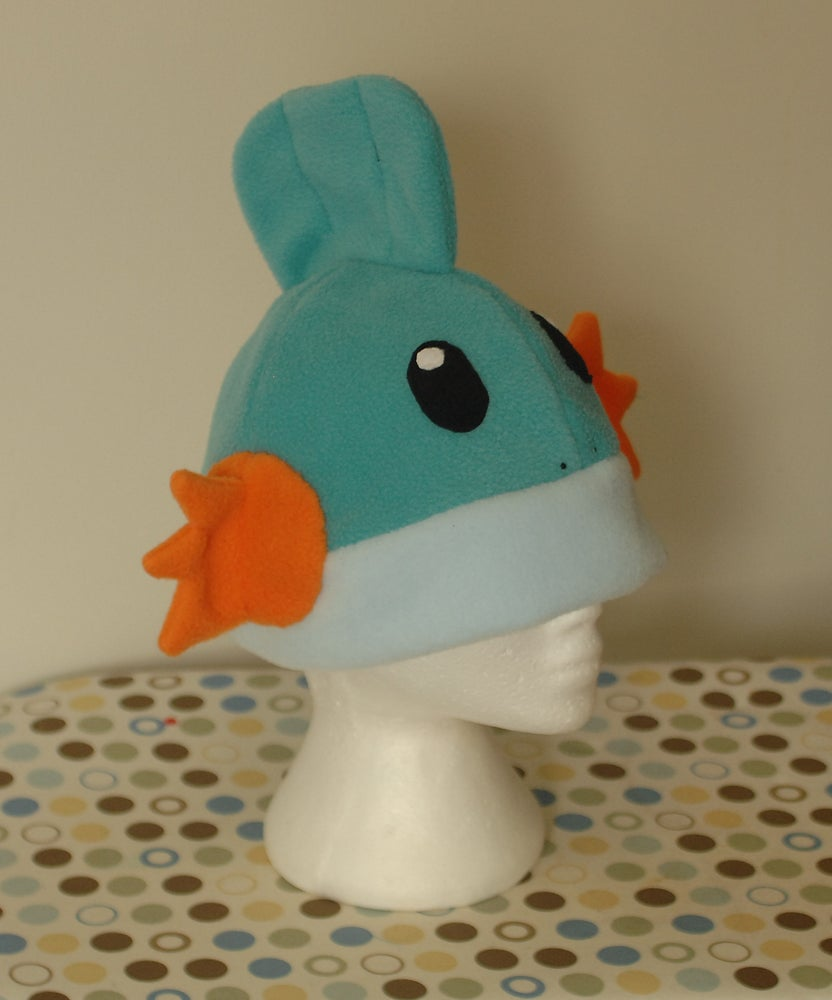 Image of Mudkip Pokemon Fleece Hat
