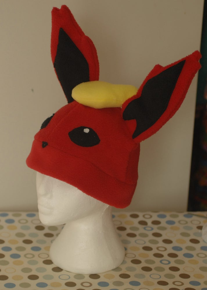 Image of Flareon Pokemon Fleece Hat