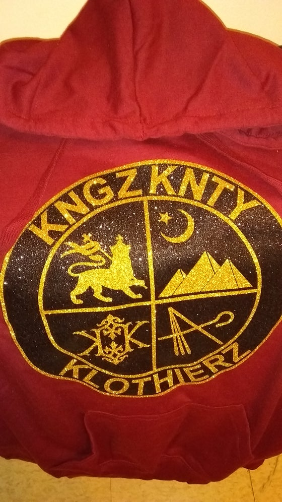 "Image of KNGZKNTY ""COAT OF ARMS"" HOODY"