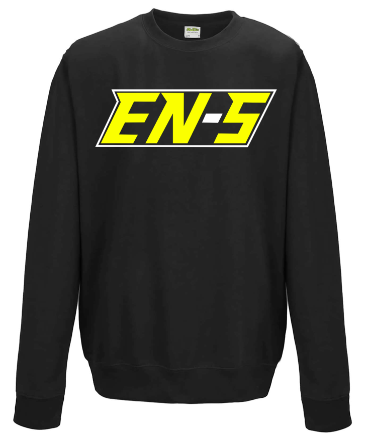 Image of EN-S Pullover - Black/Yellow/White // P001