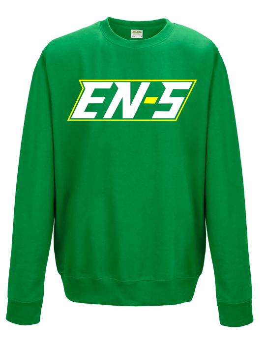 Image of EN-S Pullover - Green/White/Yellow // P003