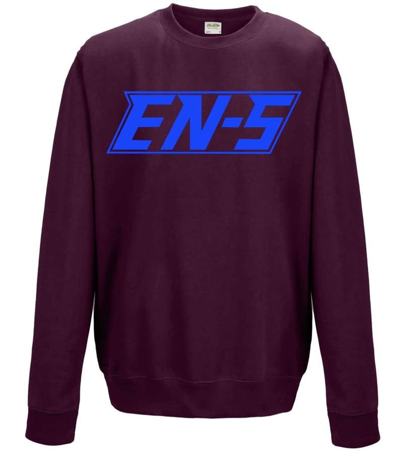 Image of EN-S Pullover - Maroon/Royal // P004