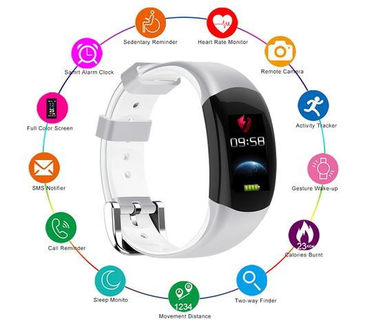Image of LT02 Smart Wristband Android & iOS - 4 Design Types