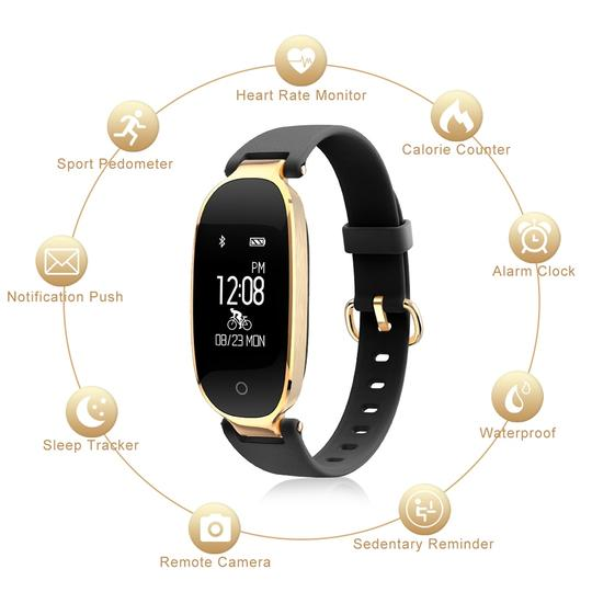Image of Fashion Smart Fitness Bracelet Android & iOS - 4 Design Types