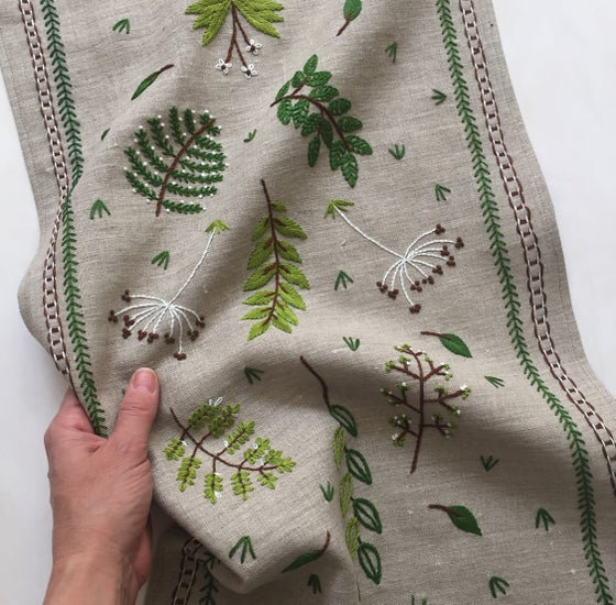 Image of Botanical Embroidery with Kasia Jacquot Sunday March 10th 2-5pm