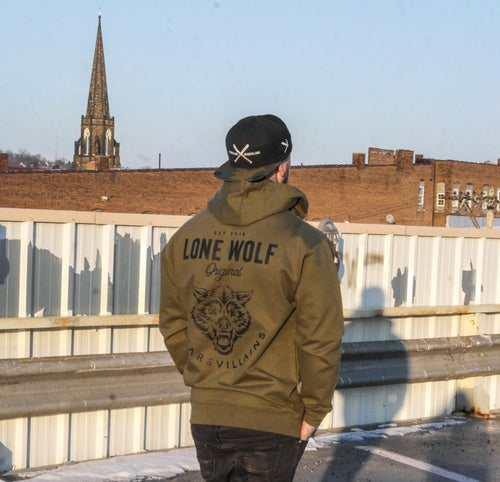 Image of Lone Wolf Official WEAREVILLAINS hoodie