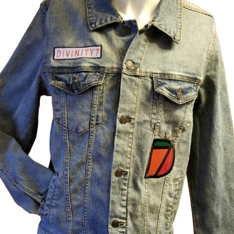 Image of Cotton Denim Jean Jacket