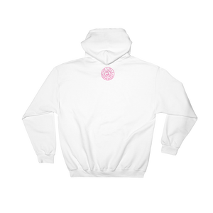 Image of Pink Ribbon Breast Cancer Hoodie in Black, Navy, Grey or White