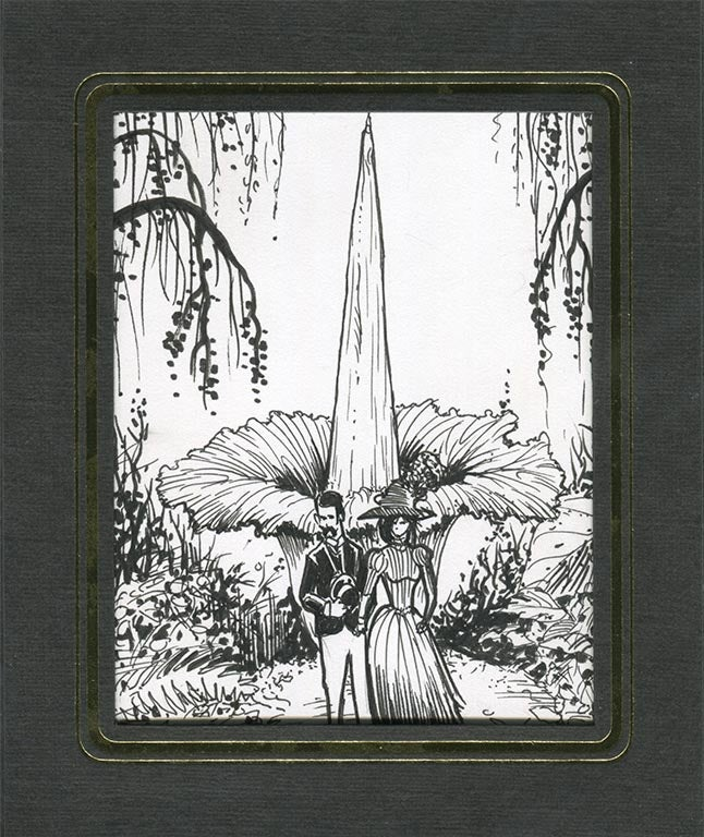 Image of Corpse Flower inked art