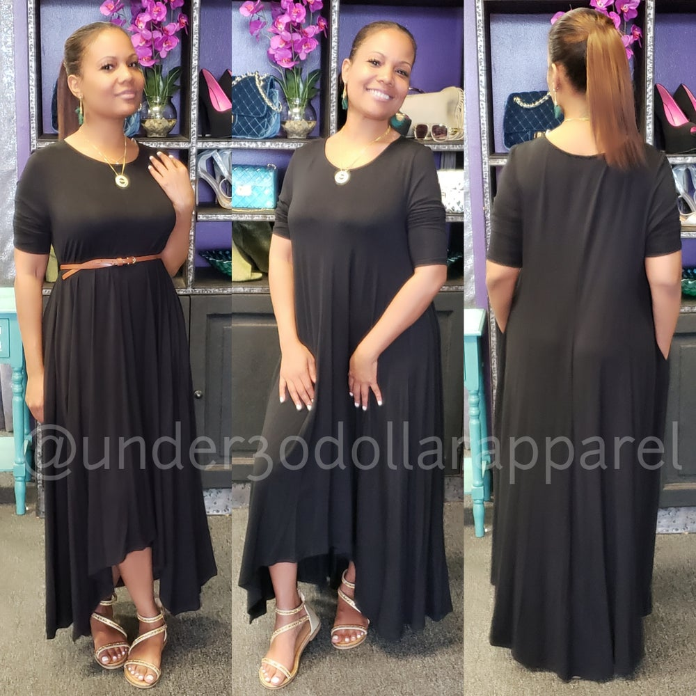 Image of Saucer Maxi Dresses (Misses)