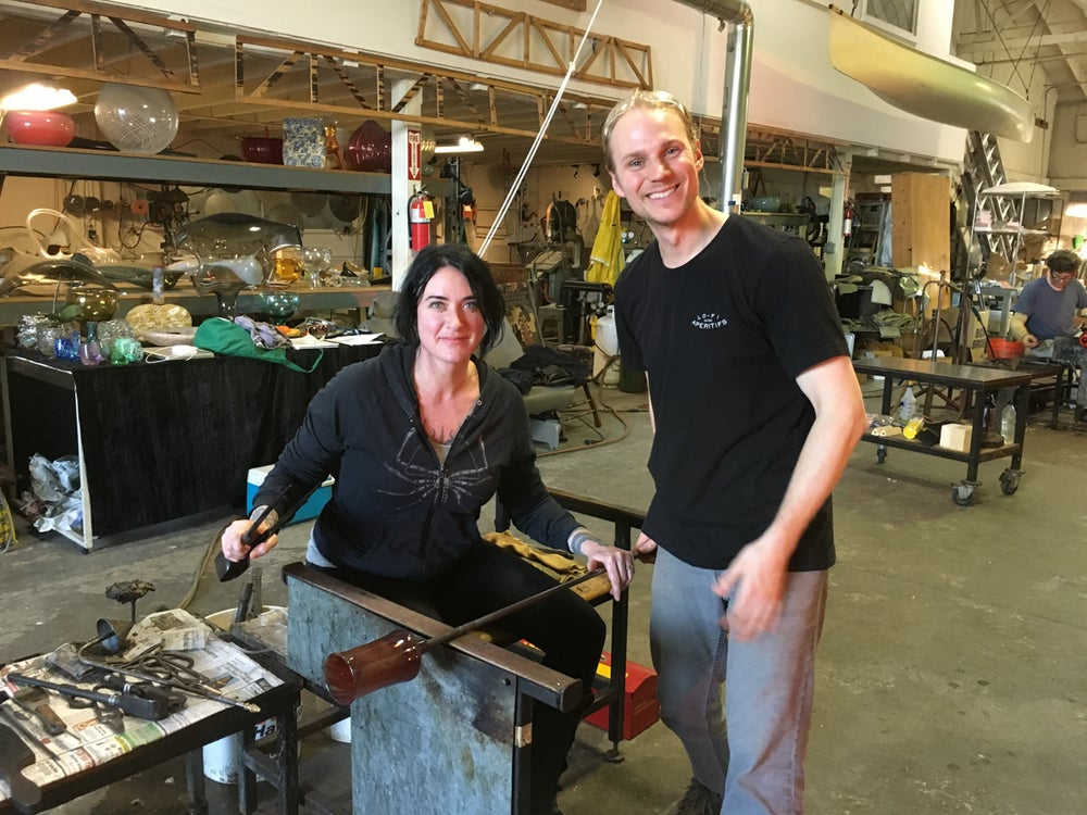 Image of Take a Glassblowing Class for 2-4 participants with Jason