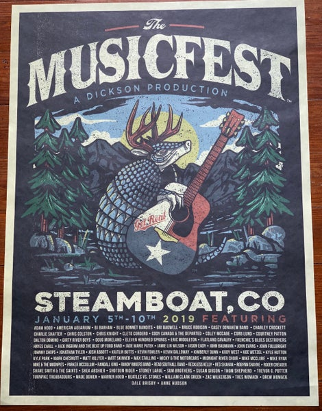 Image of MusicFest POSTER 2019
