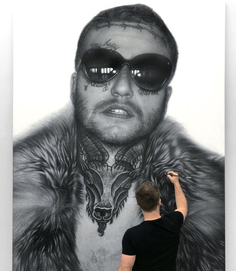 Image of Self-Portrait as Post Malone