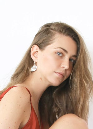 Image of Wild Alice Earring Silver