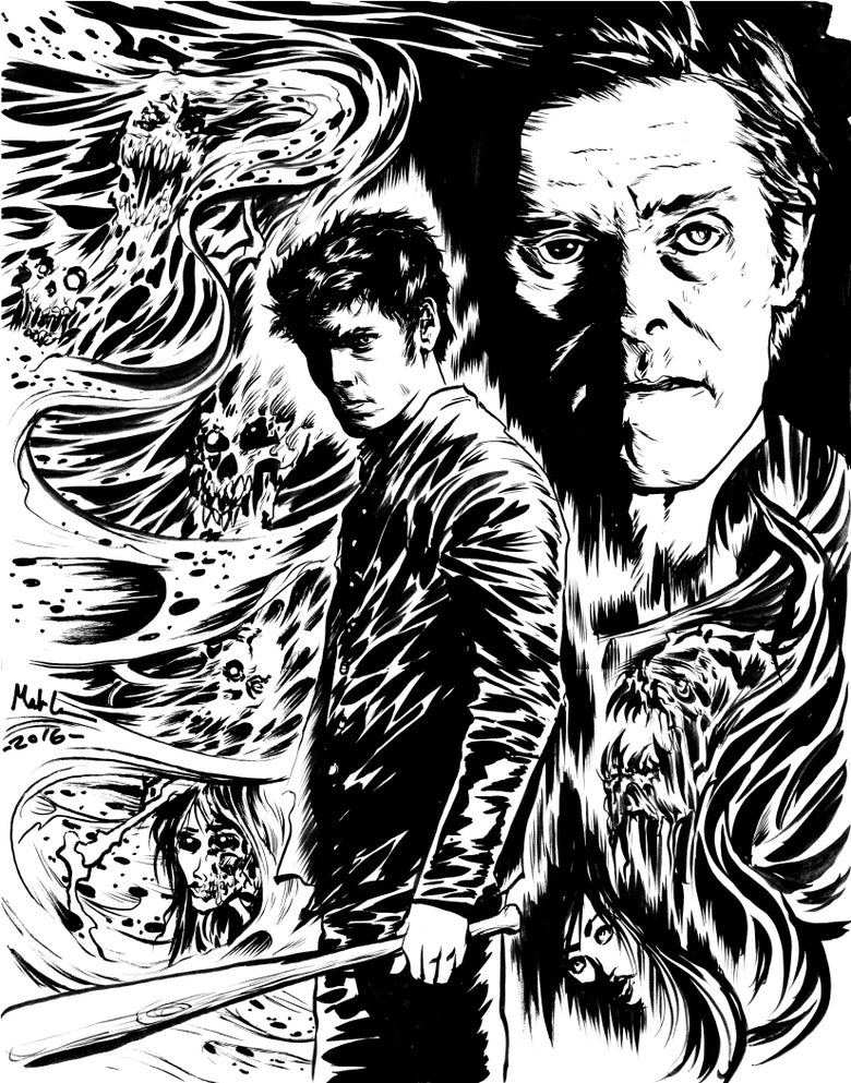 Image of Odd Thomas 11x14 inch print