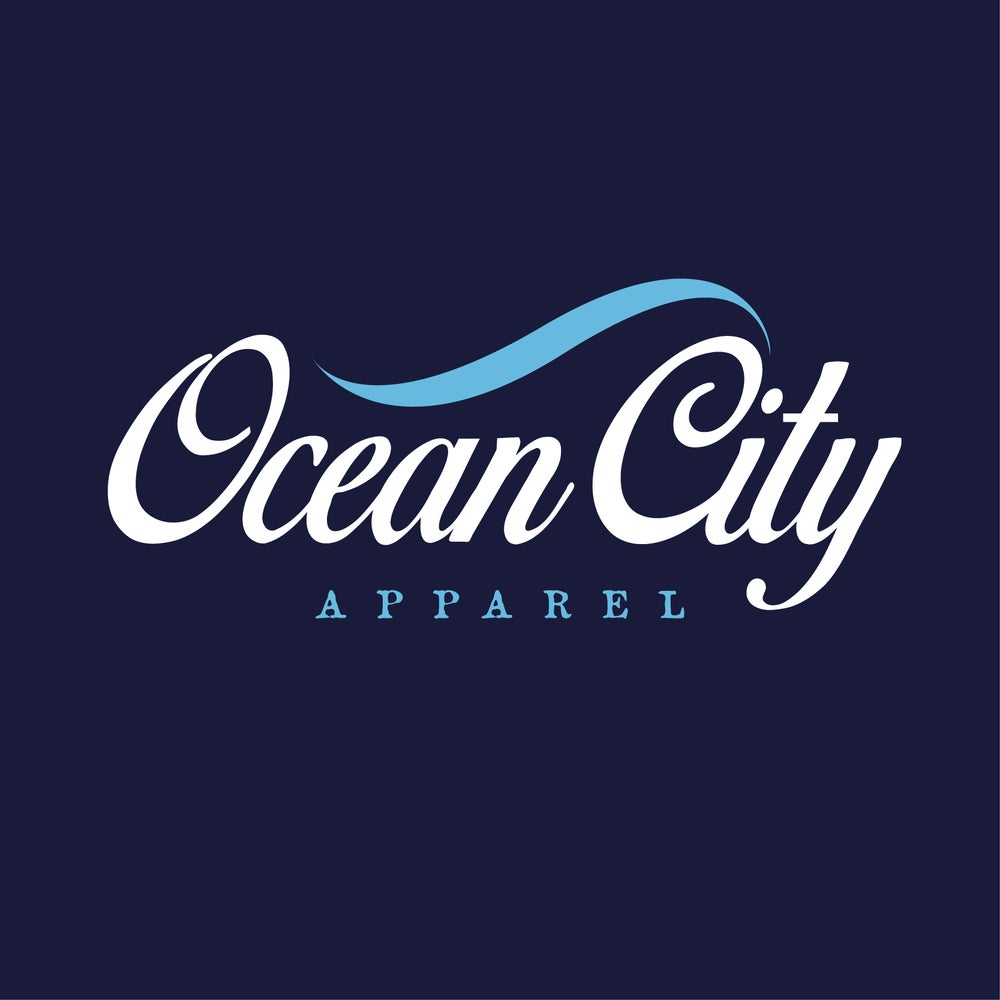 Image of Ocean City Apparel - Navy T-shirt
