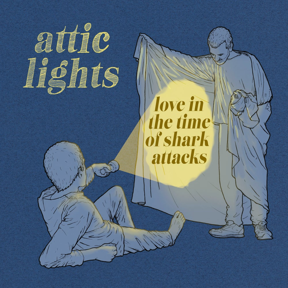 "Image of ATTIC LIGHTS - Love In The Time Of Shark Attacks (Ltd Yellow 12"" Vinyl or CD)"
