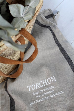 Image of Torchon lin lavé (TRCHNLING1)