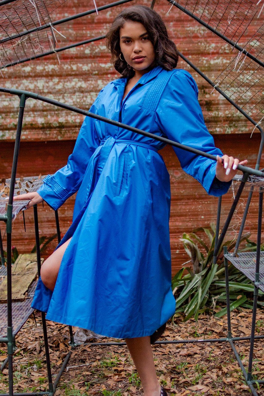 Image of Damsel blue coat