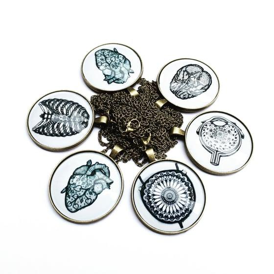 Image of Organ-mandala medal