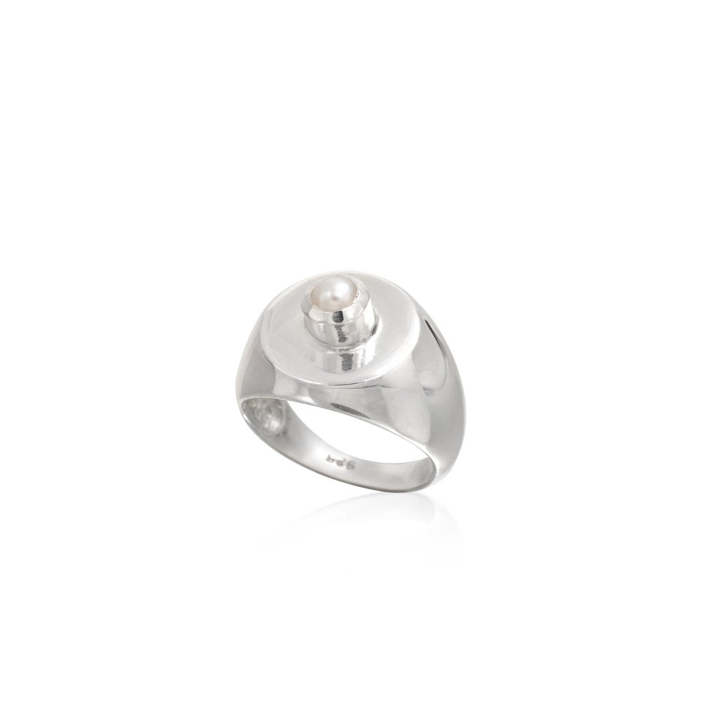 Image of Daria Center Ring Silver