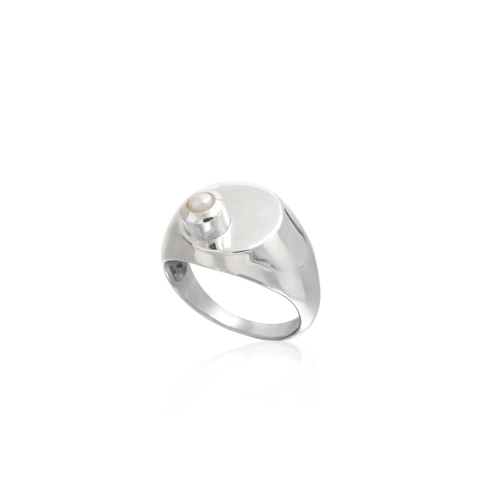 Image of Daria Side Ring Silver