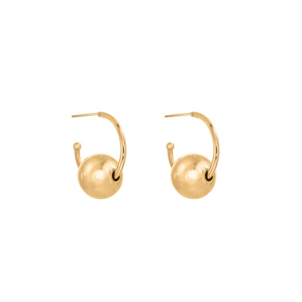 Image of Venus 14mm Earring Gold
