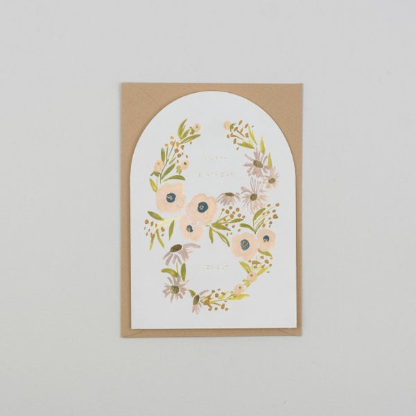 Image of Happy Birthday Lovely Shaped Card
