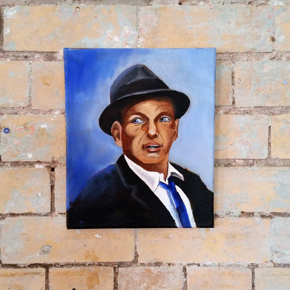 Image of Sinatra Canvas by George 'Banksie' Banks