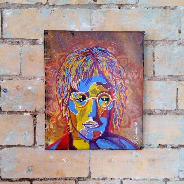 Image of Lennon Canvas by Andy Crombie