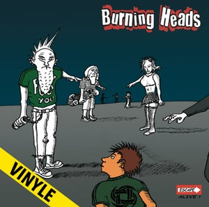 "Image of BURNING HEADS ""Escape Alive"" LP"