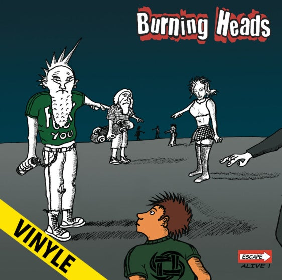 "BURNING HEADS ""Escape Alive"" LP"