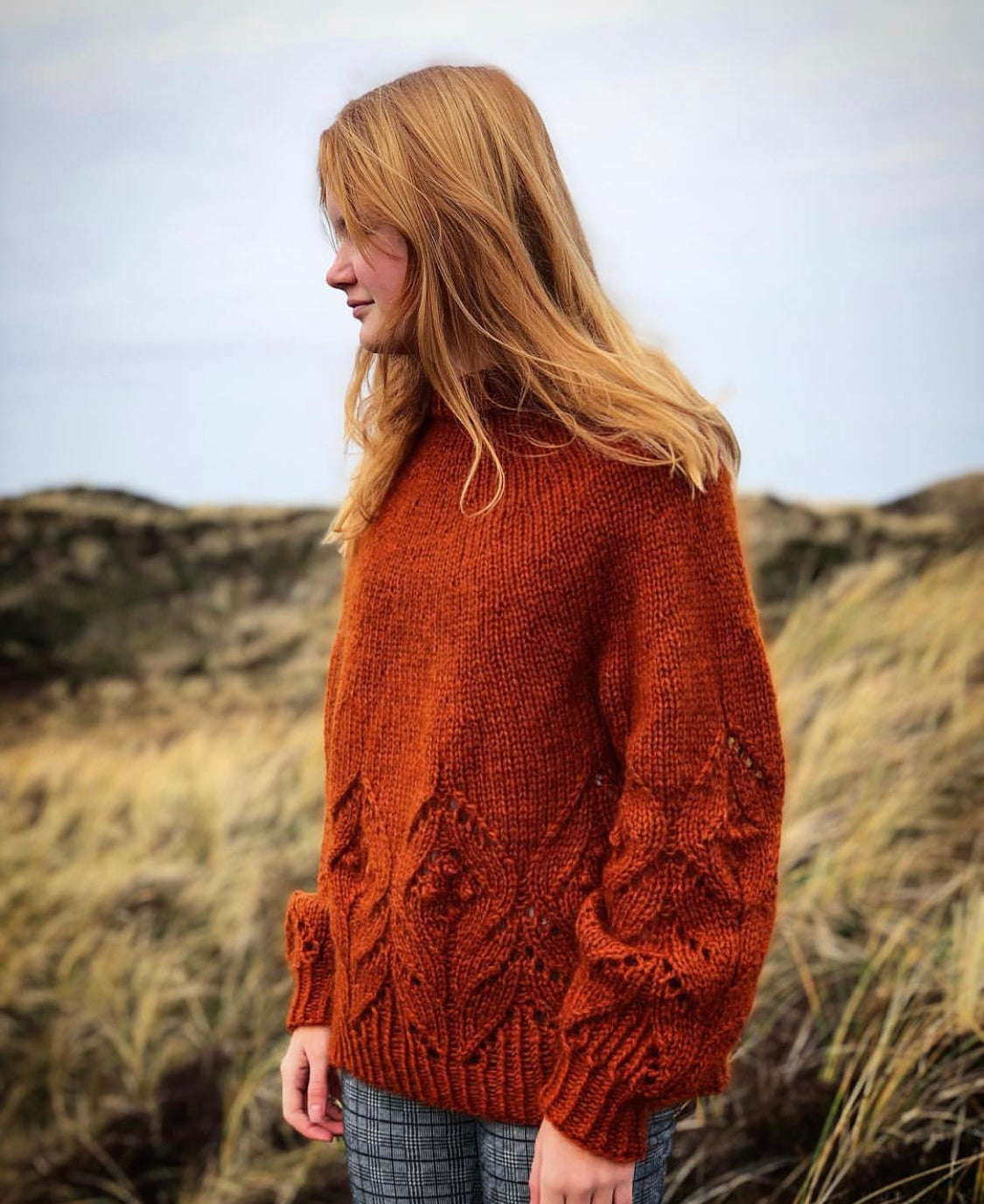 Image of MAGNOLIA CHUNKY (DANSIH PATTERN ONLY! ENGLISH PATTERN IS AVAILABLE ON RAVELRY)