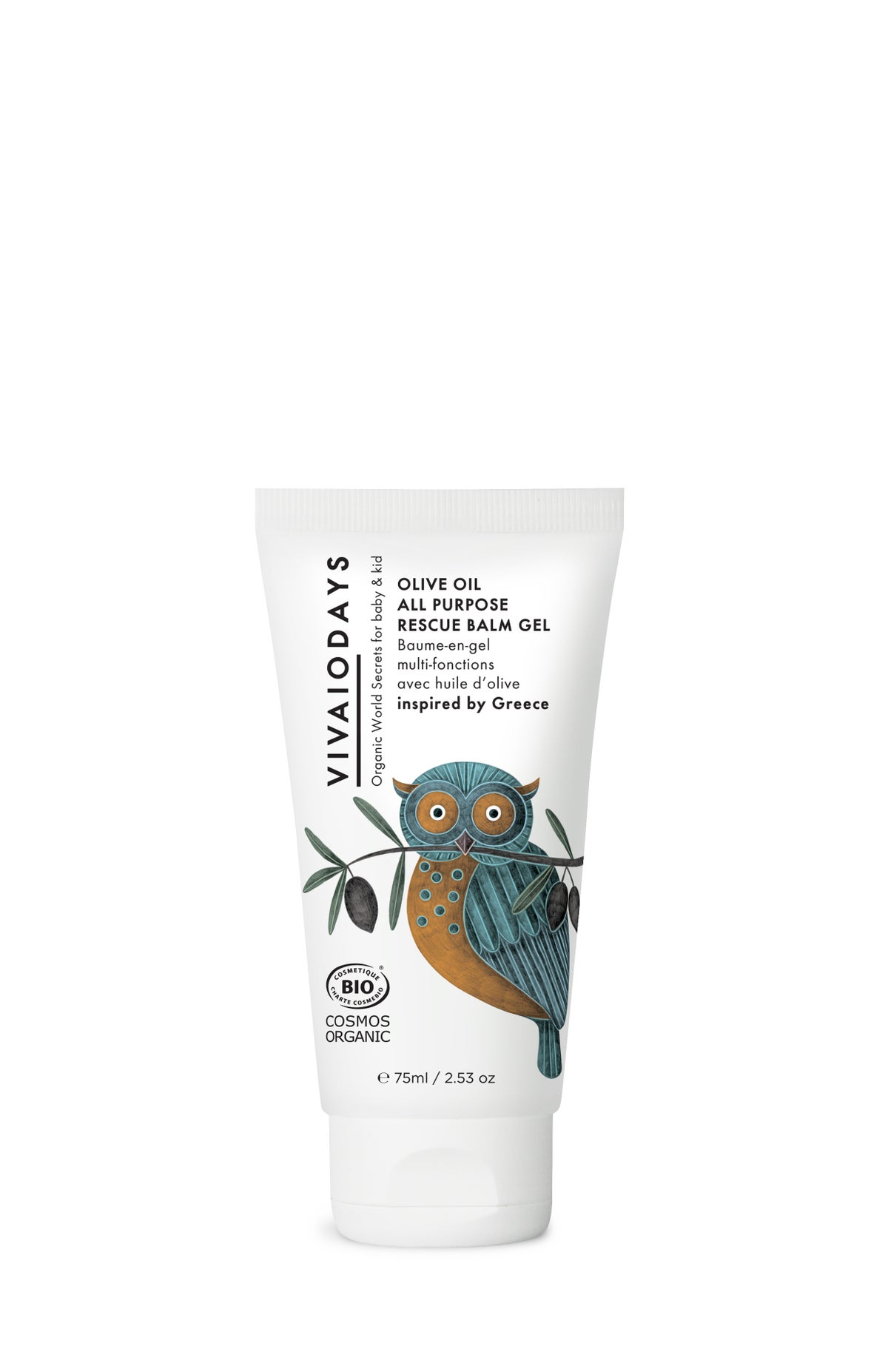 Image of VIVAIODAYS | OLIVE OIL ALL PURPOSE RESCUE BALM GEL inspired by Greece