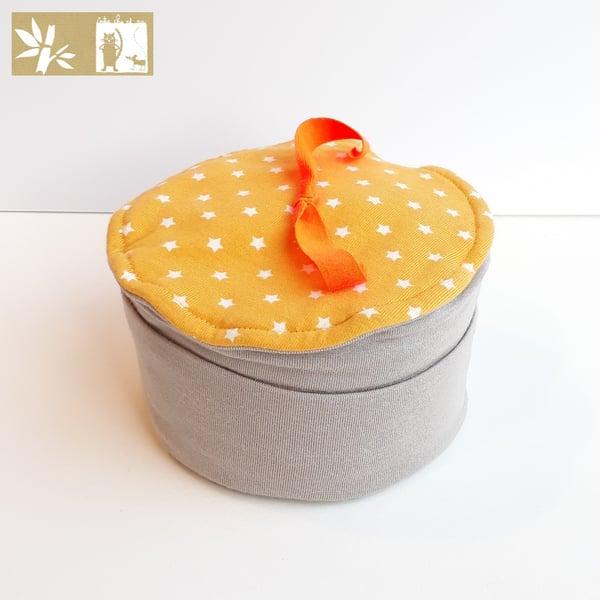 """Image of Bonnet Bambou """" Mini Etoile Taupe"""" / ref ME.T-E"""