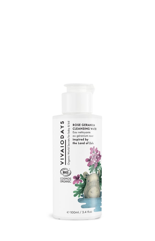 Image of VIVAIODAYS | ROSE GERANIUM CLEANSING WATER inspired by the Land of Zulu