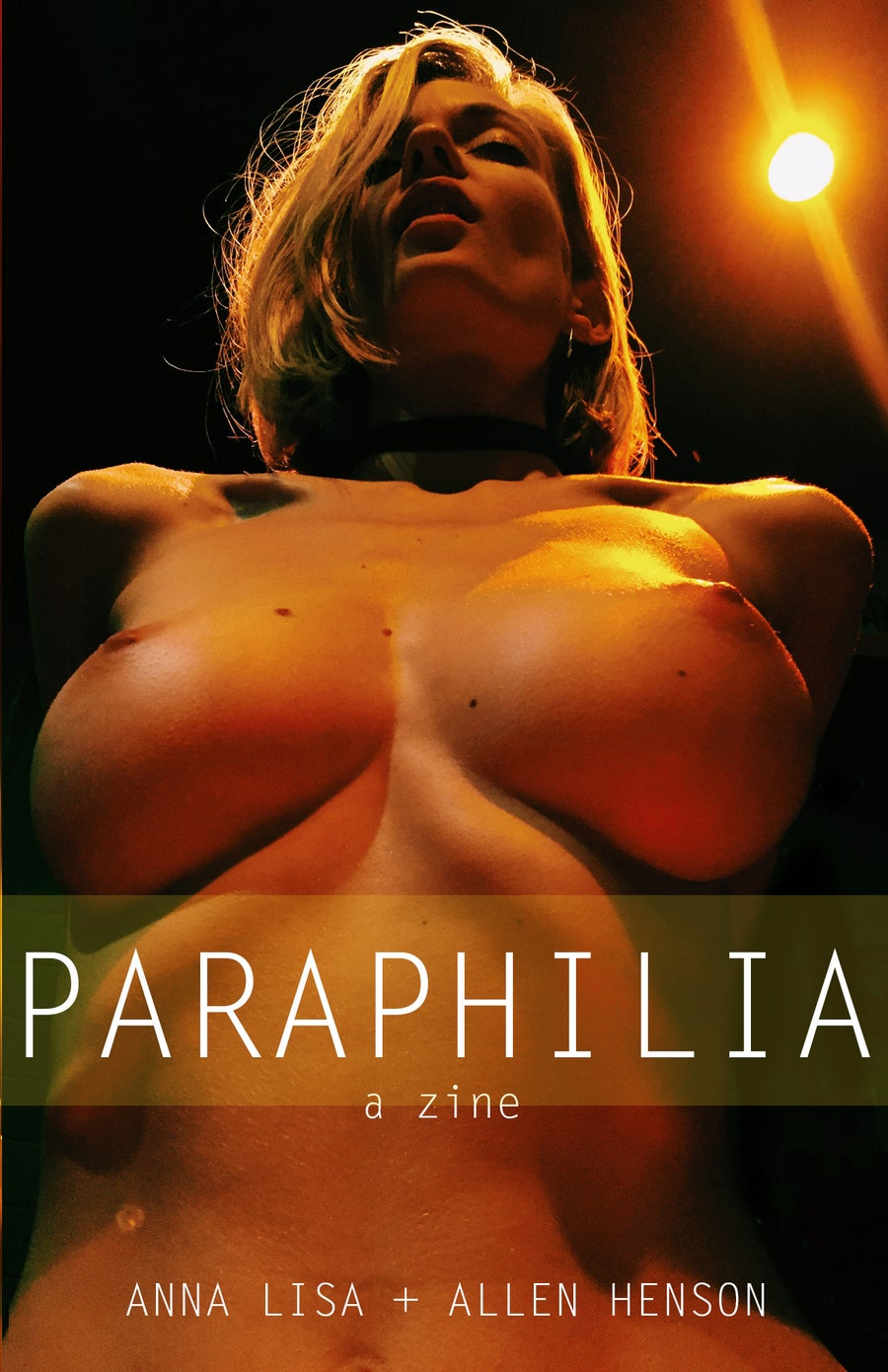Image of PARAPHILIA , an erotic Zine by Allen Henson