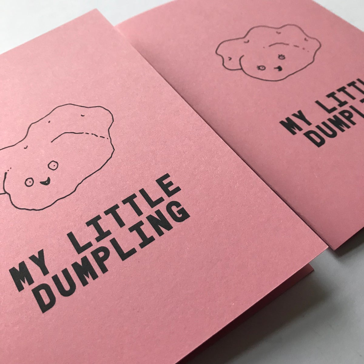 Image of DUMPLING CARD by fingsMCR