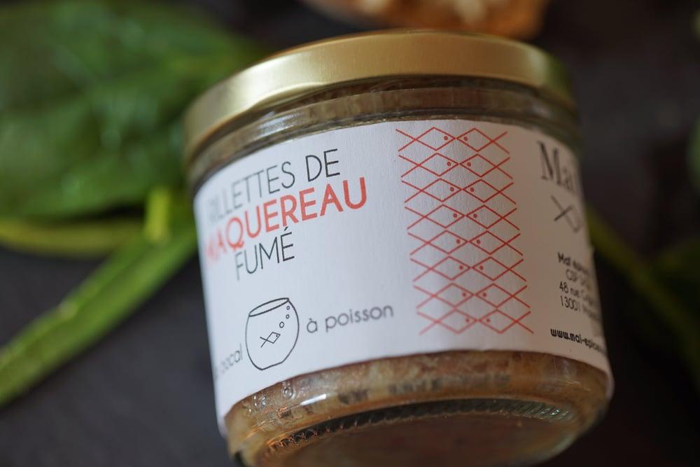 Image of Le bocal à poisson : Rillettes de Maquereau Fumé