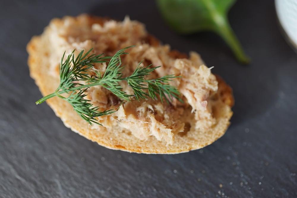 Image of Le bocal à poisson : Rillettes de Maquereau au Poivre Vert