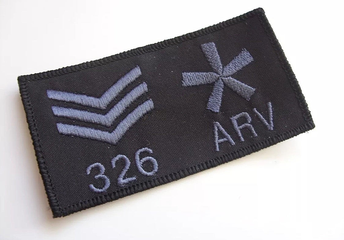 Image of Velcro Patches from KMP UK