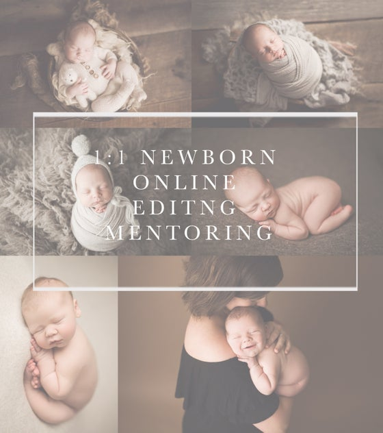 Image of 1:1 Online Newborn Editing Mentoring