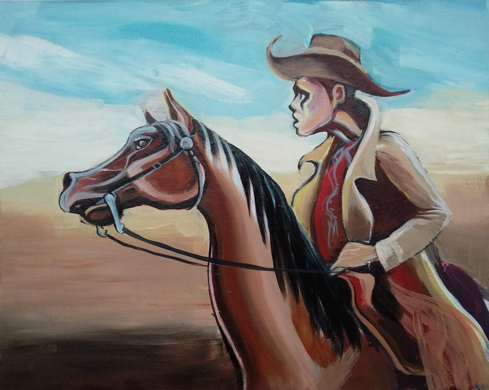 Image of Lonesome Cowboy by/par Daniel Leclair