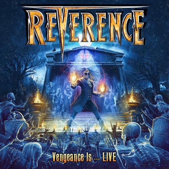 Image of Vengeance Is...LIVE Digi CD