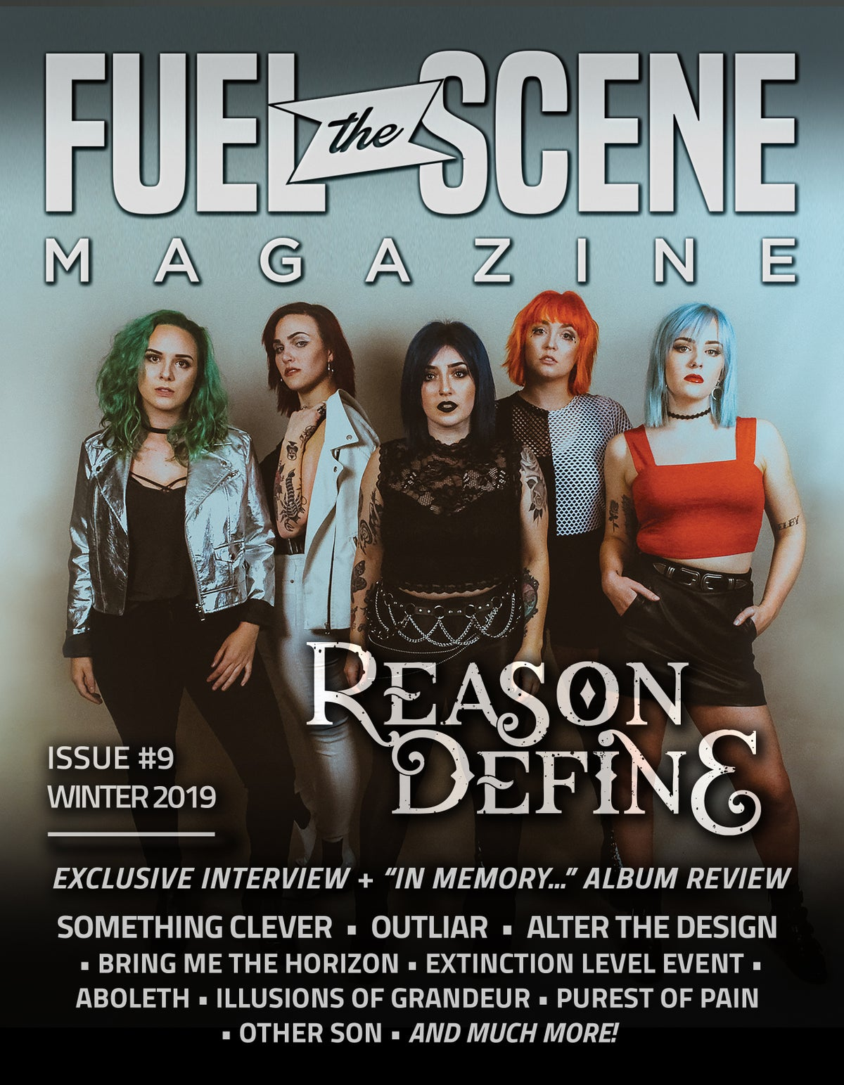 Image of PREORDER: Fuel The Scene Magazine #9: WINTER 2019 featuring Reason | Define