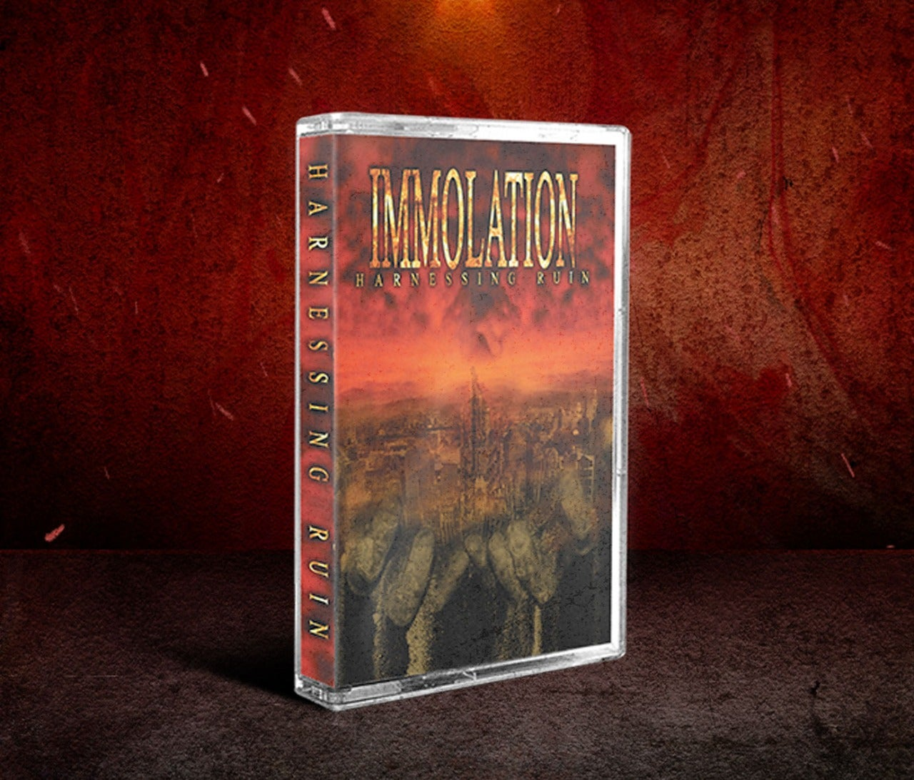 Image of IMMOLATION - Unholy Cult - Harnessing Ruin - Shadows In The Light Tapes